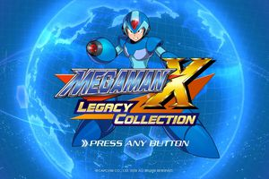 Mega Man X Legacy Collection for PS4