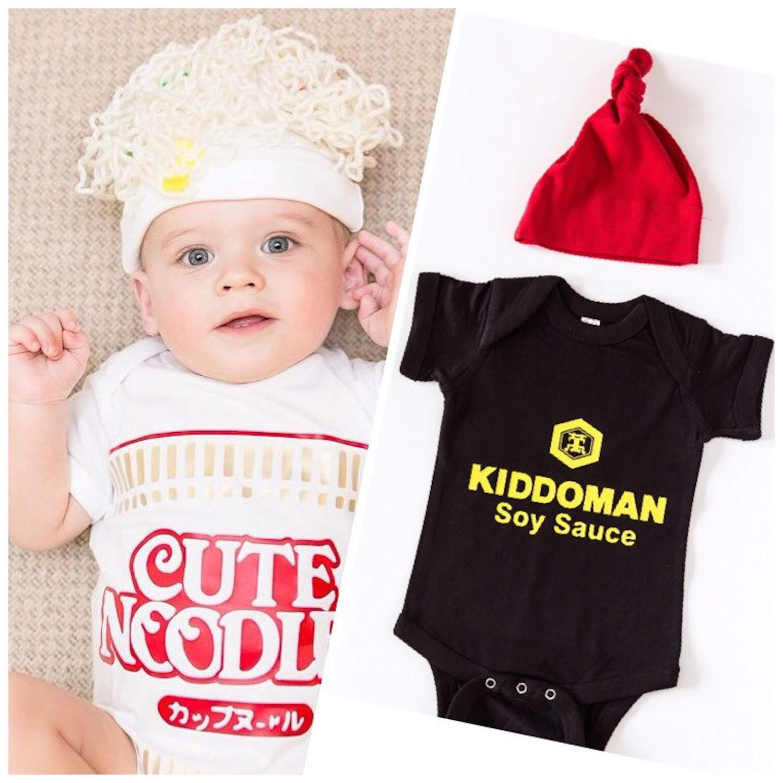 cefa108ca Ramen and Soy Sauce Baby Halloween Costumes. etsy.com