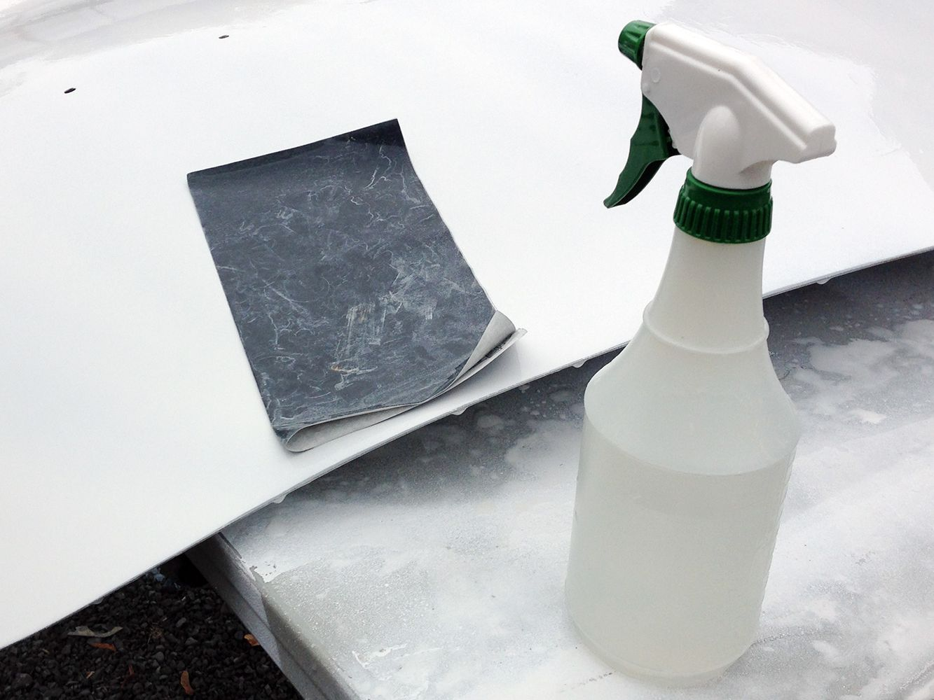 Wet Sand Your Car S Primer Or Paint