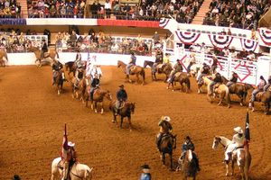 Fort Worth Stock Show and Rodeo Grand Entry and Introductions