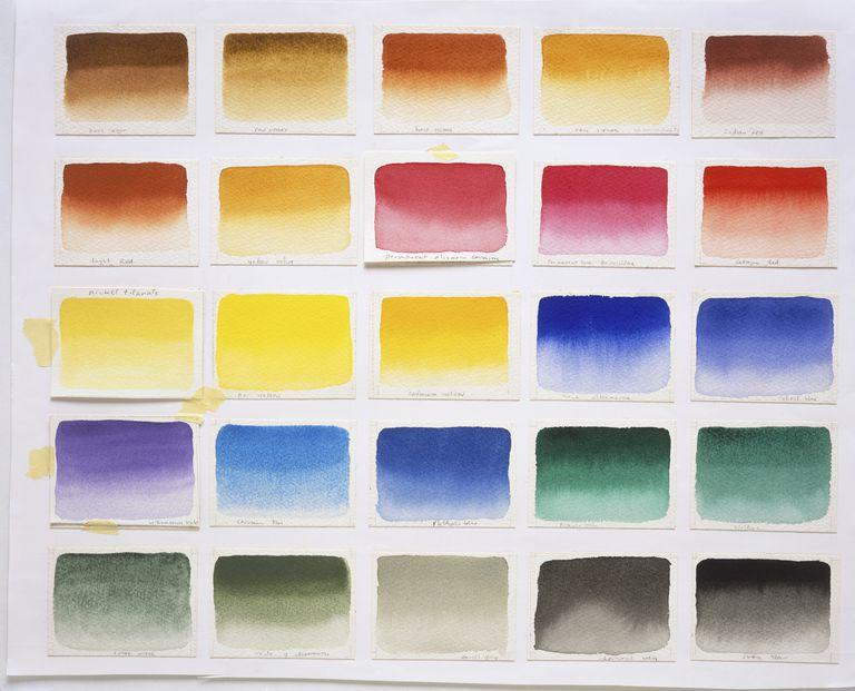 Tones and hues