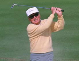 Jerry Barber at the 1994 Los Angeles Open