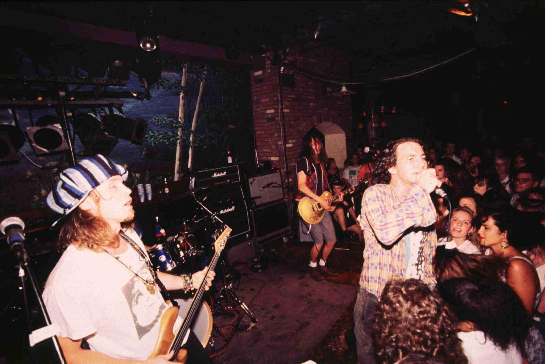 Pearl Jam in Concert at Wetlands - 1991