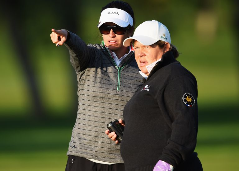 Partners can advise one another, but opponents and fellow-competitors must be careful about advice, because some is allowed and some isn't under the Rules of Golf.