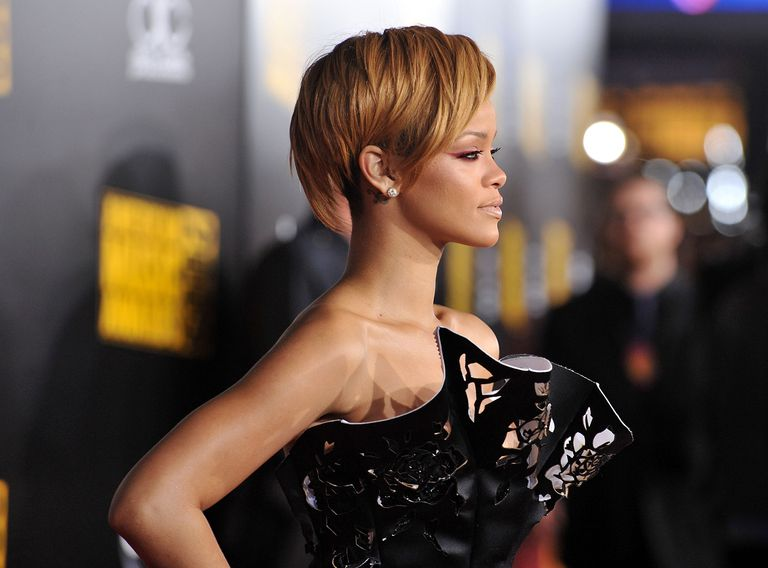 Short, Edgy Haircuts on Black Female Celebs