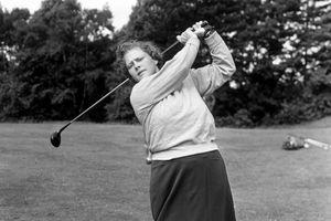 Golfer Patty Berg in 1951.