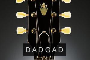 dadgad celtic tuning on guitar