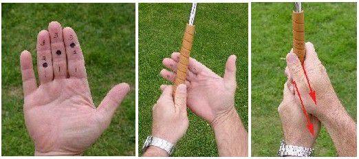 Trailing Hand Golf Grip