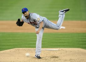 New York Mets vs Washington Nationals—Johan Santana