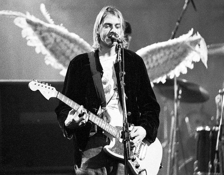 Kurt Cobain Nirvana 1993