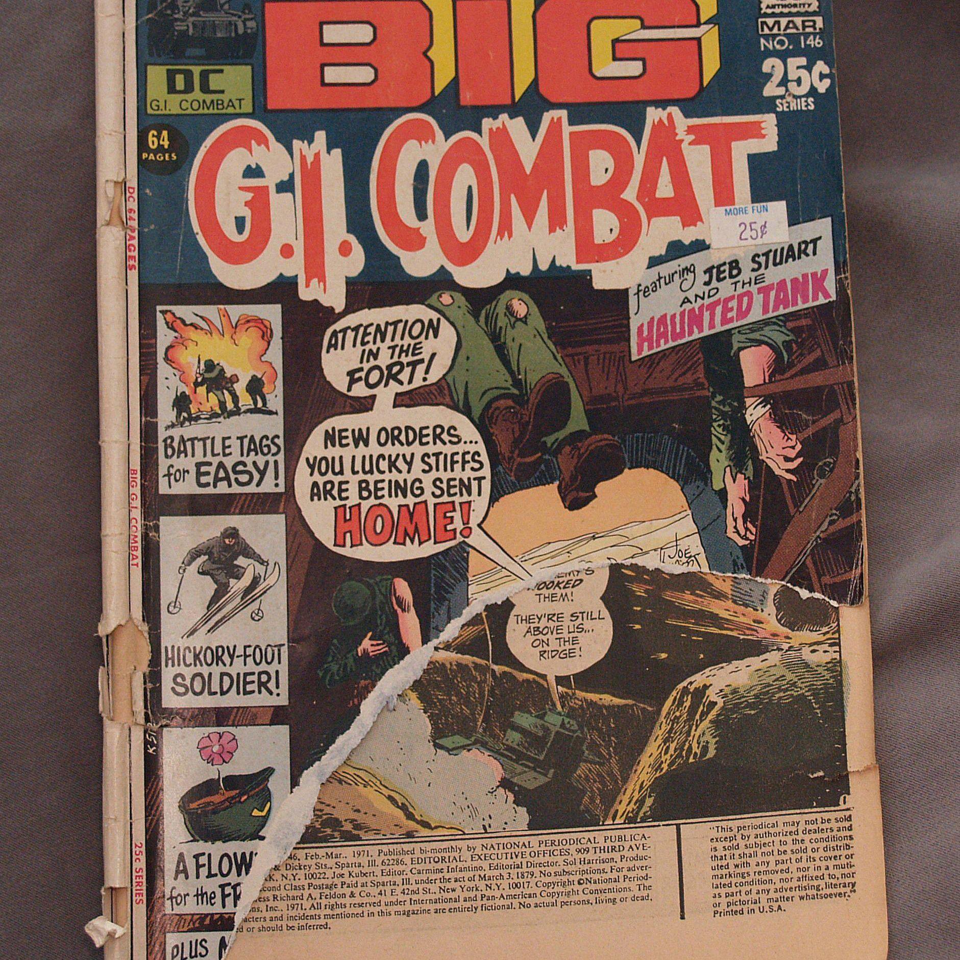 Vintage comic book
