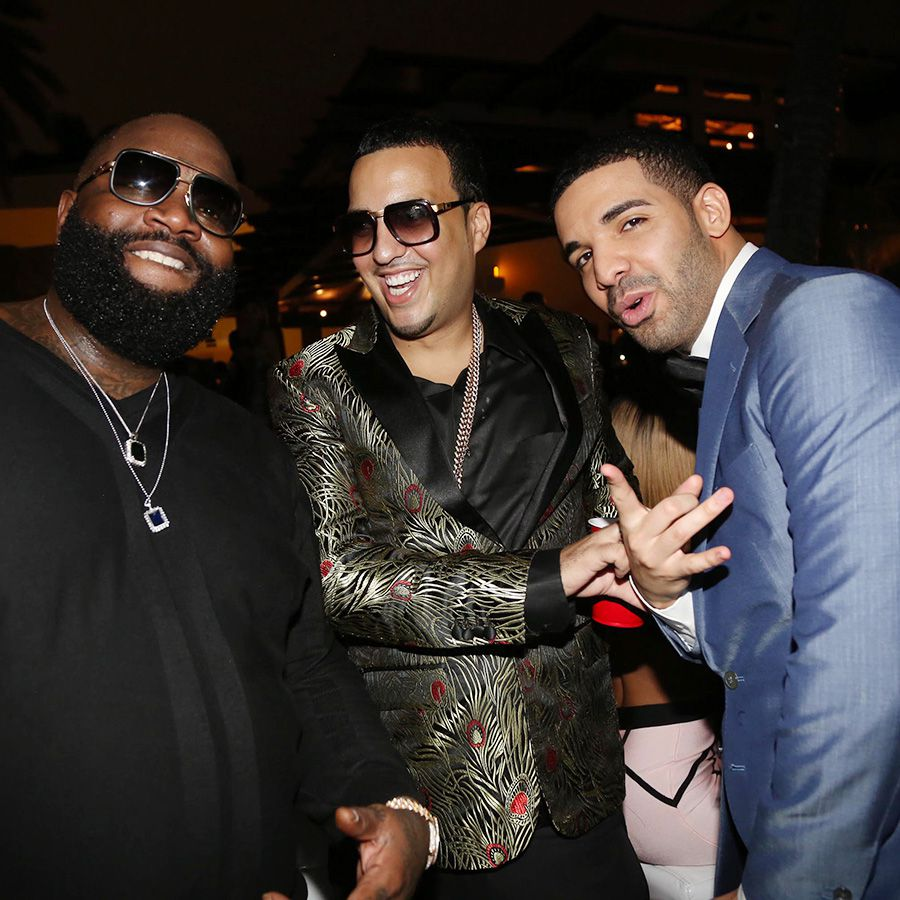 Rick Ross, French Montana and Drake