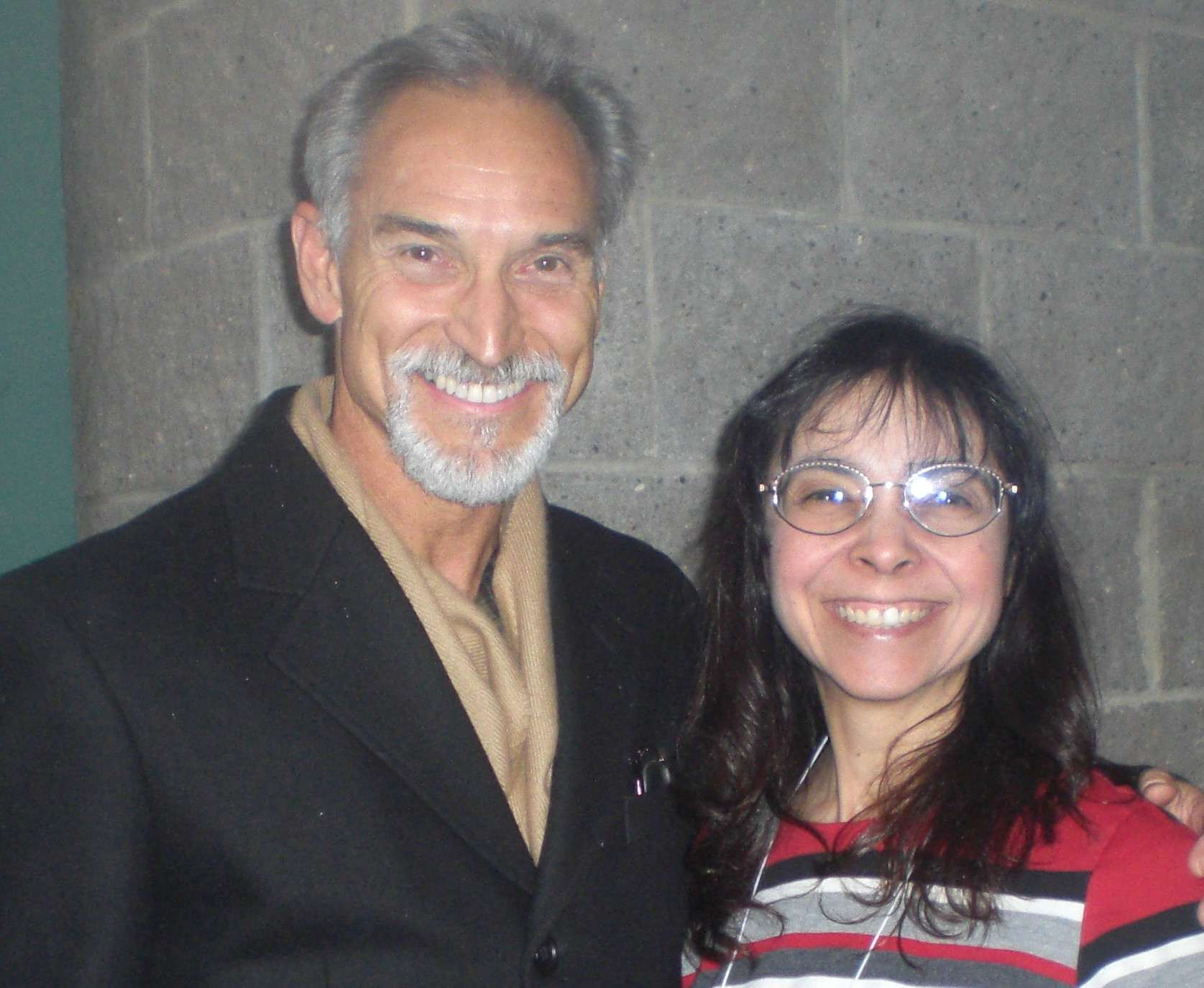 1976 U.S. Men's Figure Skating Champion Terry Kubicka With Jo Ann Schneider Farris