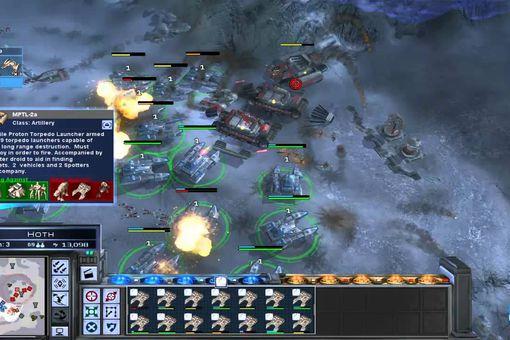 Screenshot of Star Wars: Empire at War