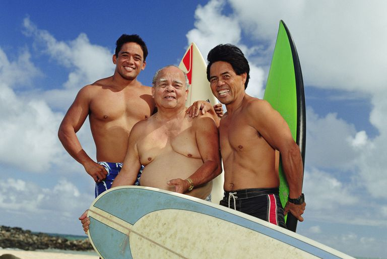 Hawaiian grandfather