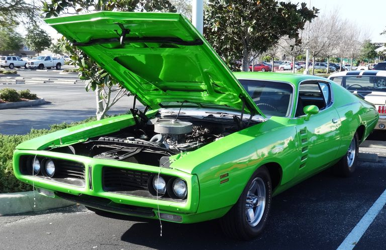 Classic Muscle Cars >> The High Impact Colors On Classic Muscle Cars