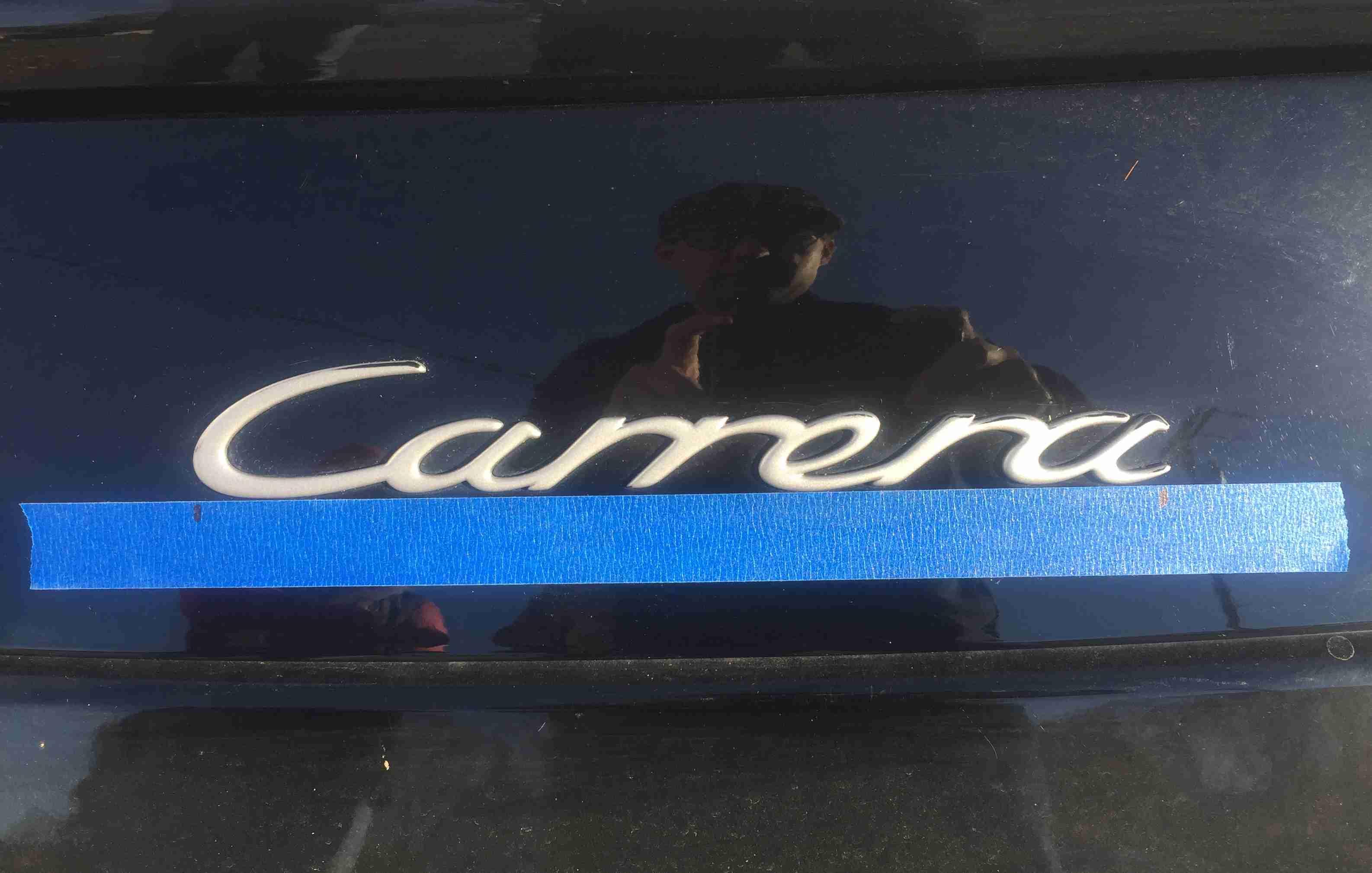 rear car emblem