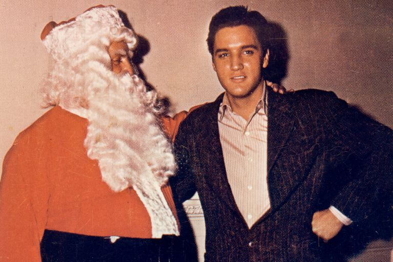 Elvis Presley and Colonel Tom Parker