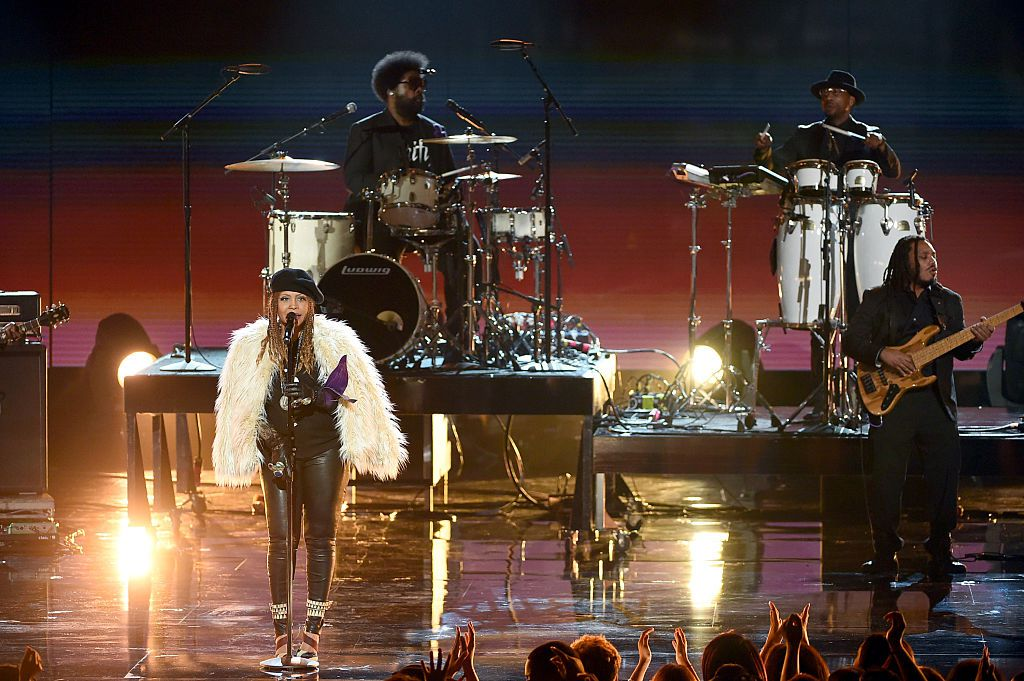 Erykah Badu and The Roots music group