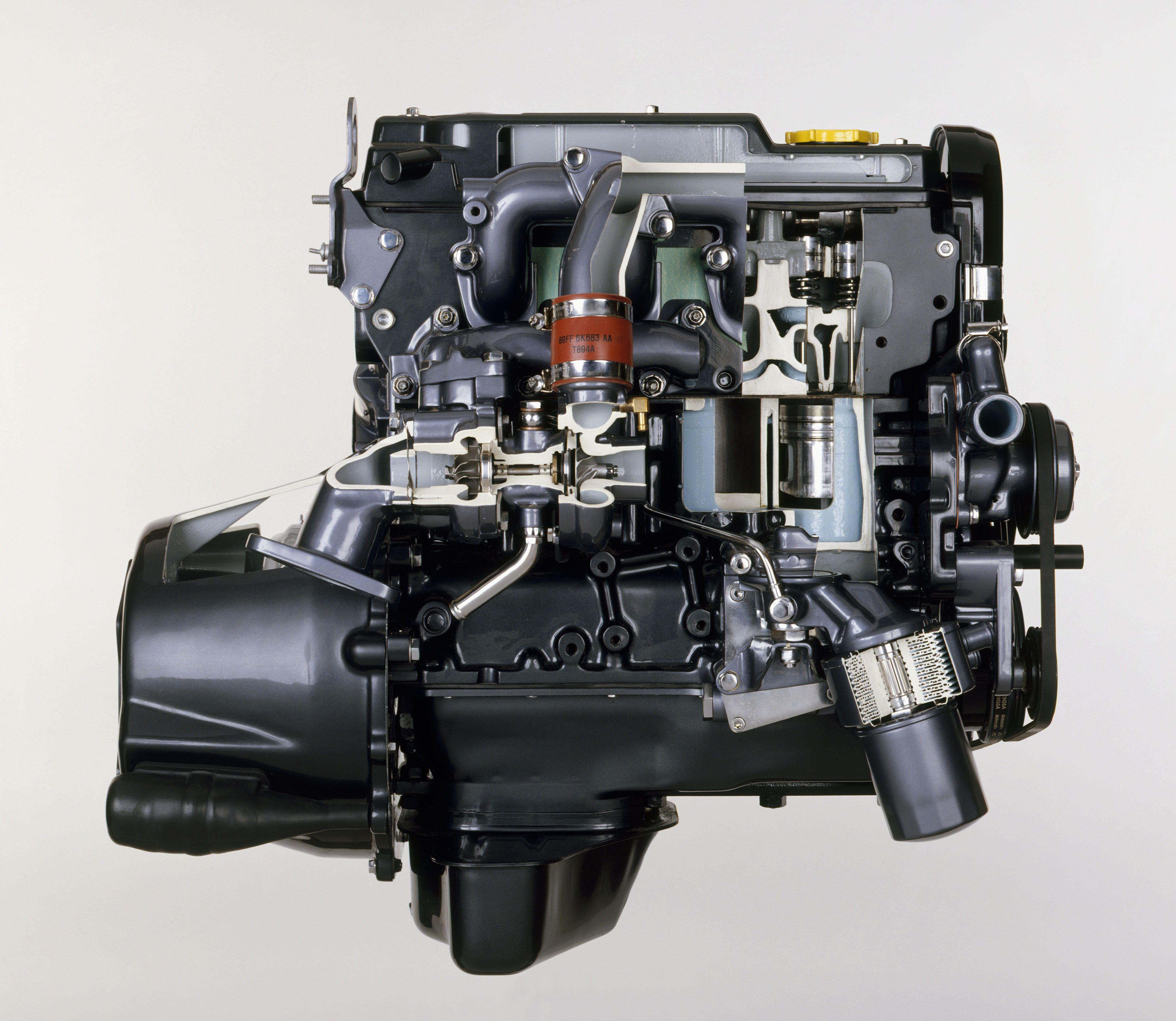 diesel engine diagram