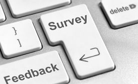 Survey feedback keyboard