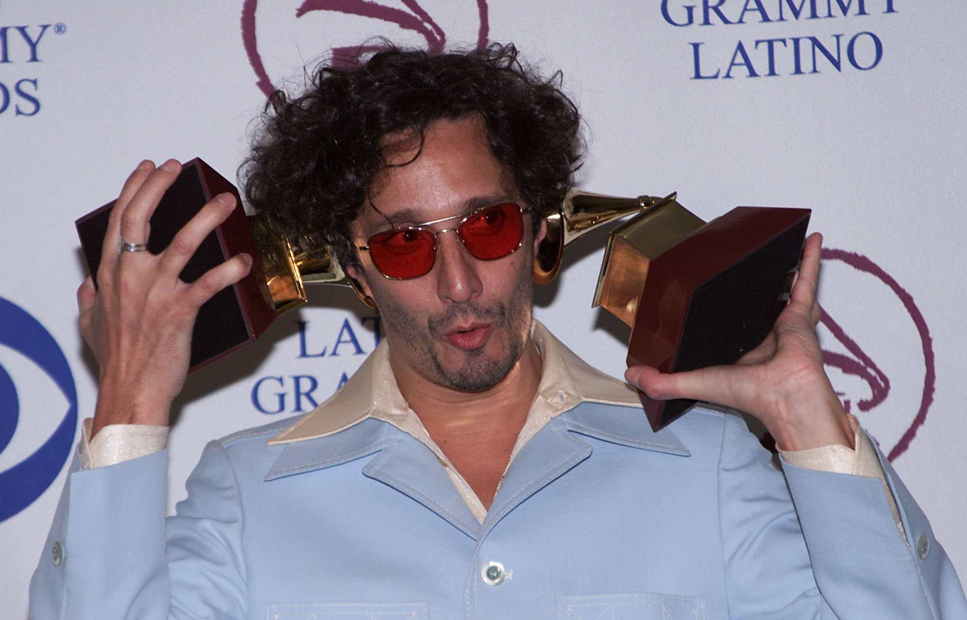 Latin rock star Fito Paez