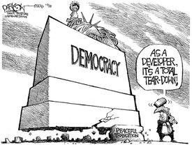 Democracy comic
