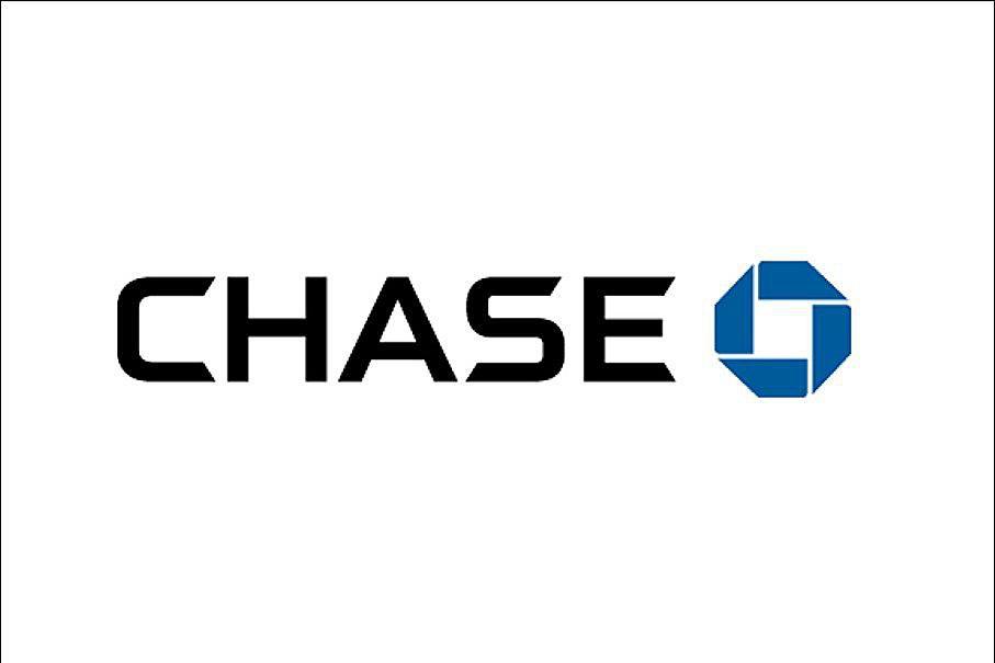The Chase bank logo.