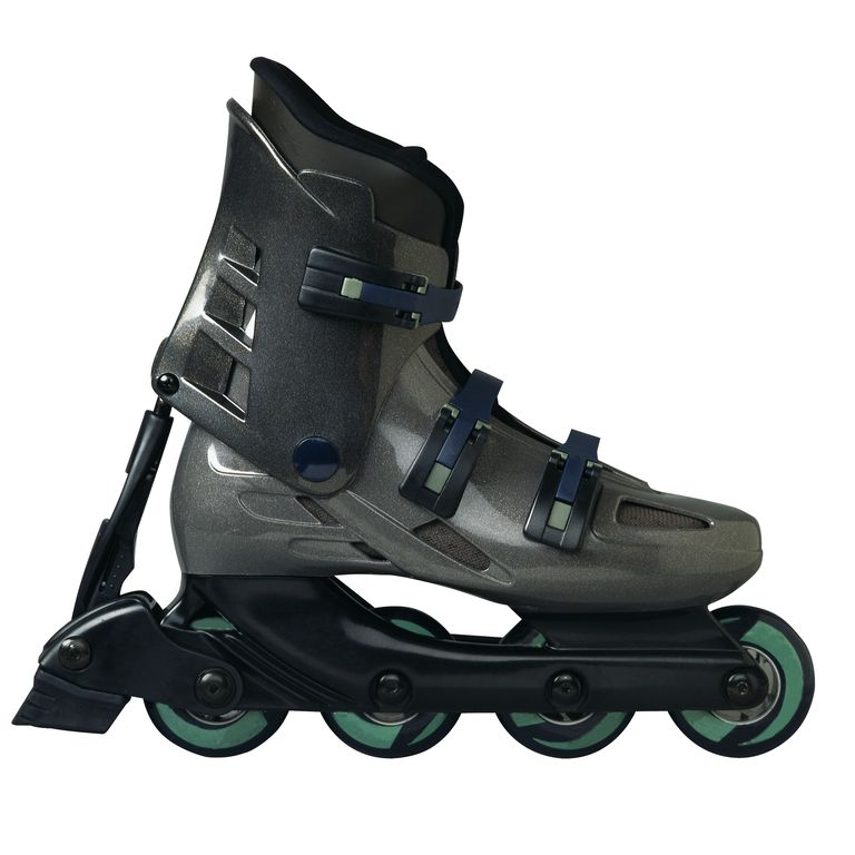 Close-Up of an Inline Skate