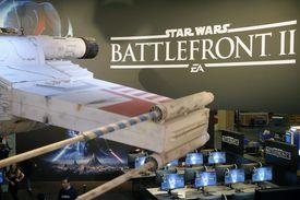 Paris Games Week display for Star Wars: Battlefront II