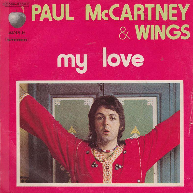 Paul McCartney Wings My Love
