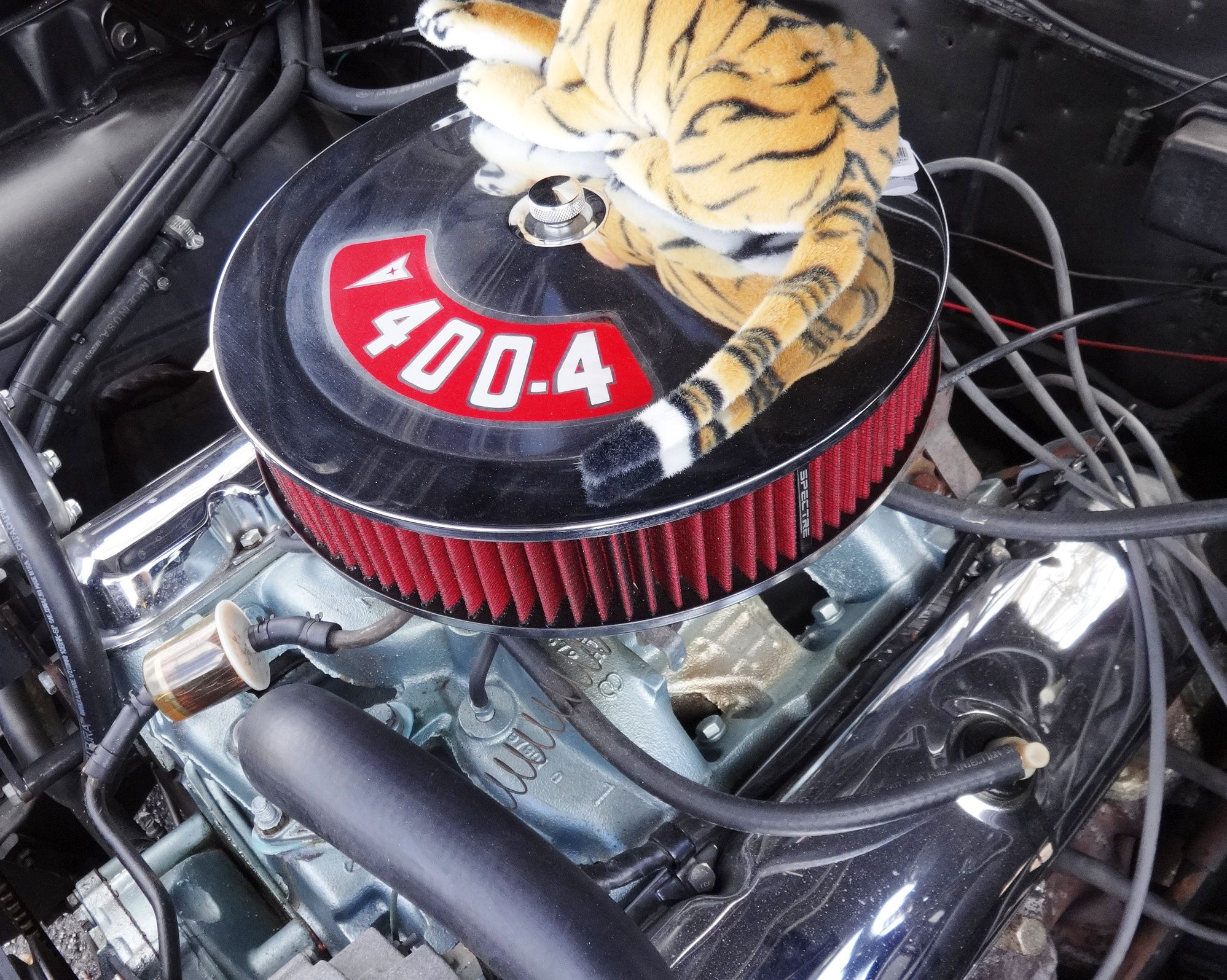 the legendary pontiac ram air 400-cubic-inch engines  liveabout