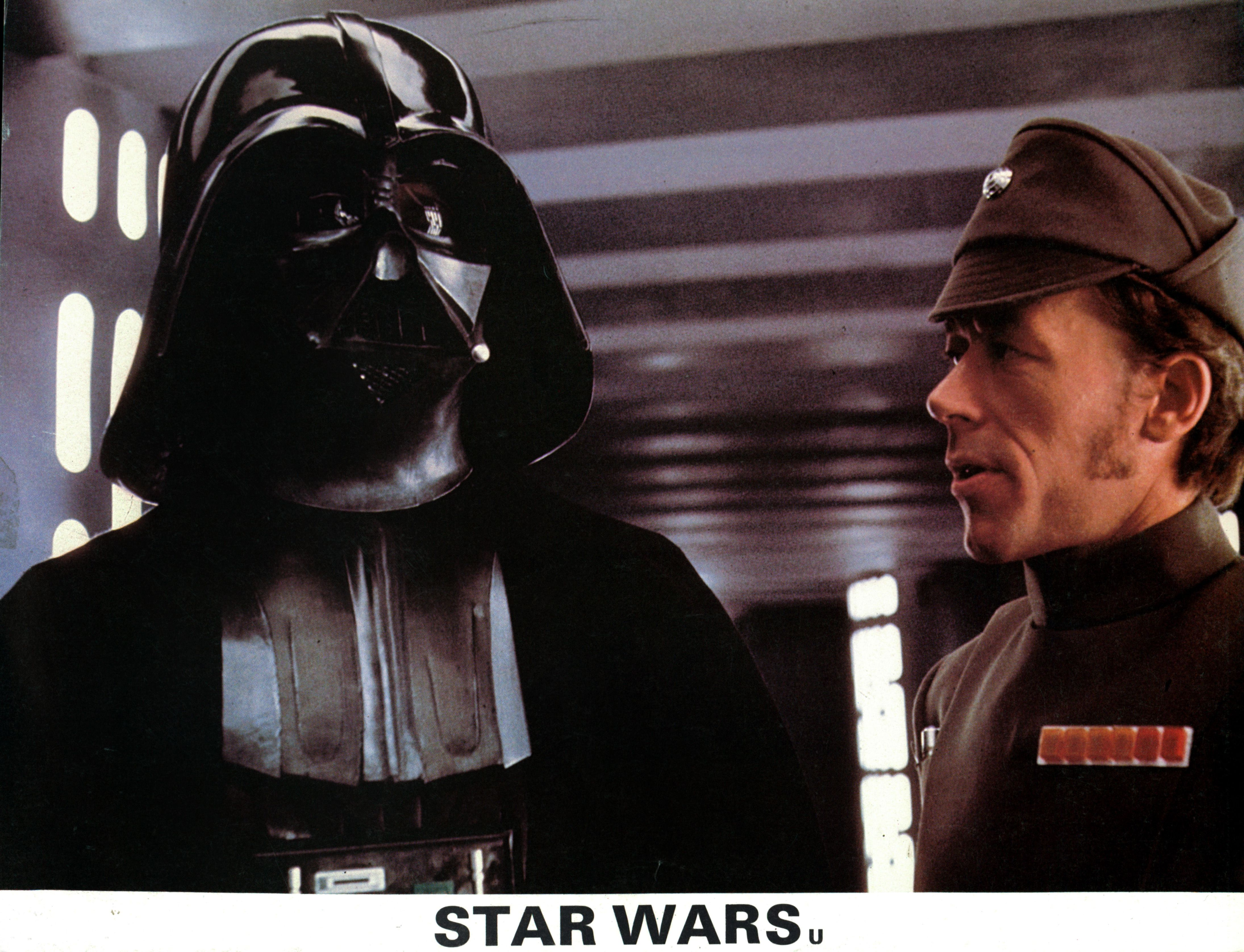 David Prowse In 'Star Wars'