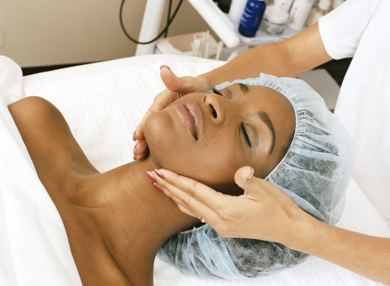 Be careful with using HP treatments, like chemical peels.
