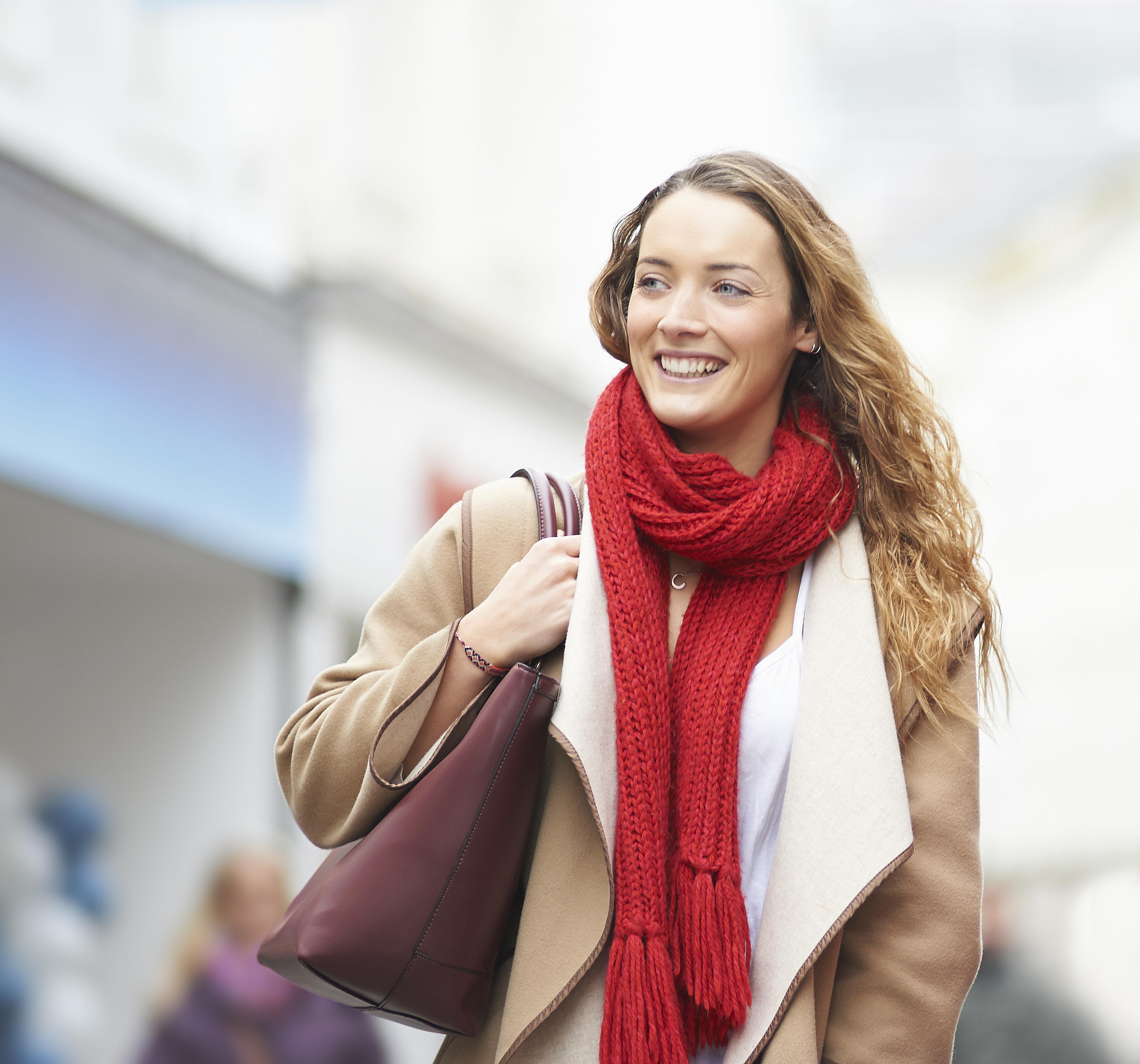 How to wear a rectangle scarf