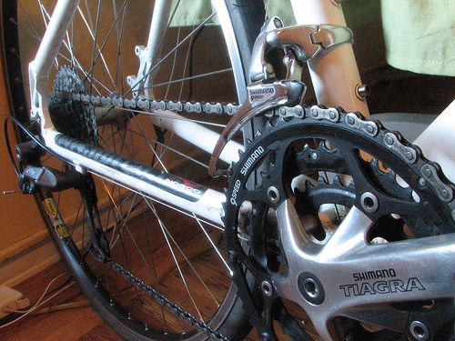 a bicycle gear shift