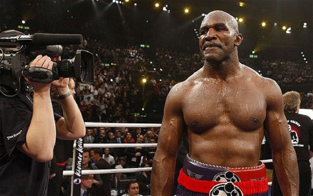Evander Holyfield career record