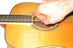 pulling the sixth string