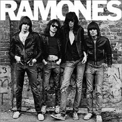"Cover art for Ramones - ""Ramones"""