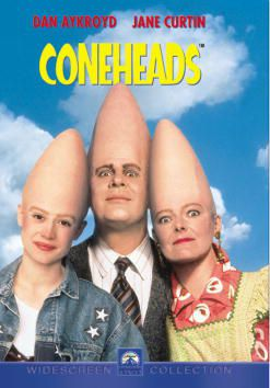 DVD cover art for Coneheads