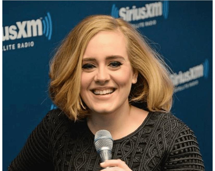 Adele at SiriusXM Satellite Radio.