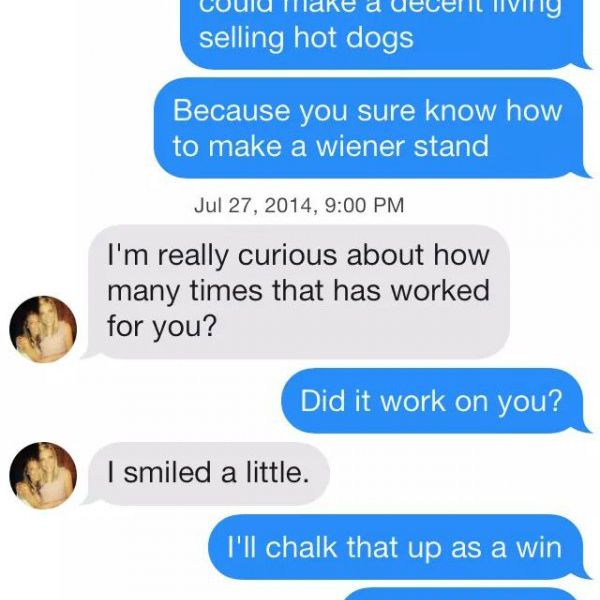Funny Tinder Pickup Lines That Actually Worked