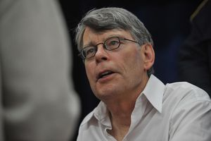 Stephen King promotes 'Under The Dome' at the North Point Boulevard Walmart on November 11, 2009 in Dundalk, Maryland.