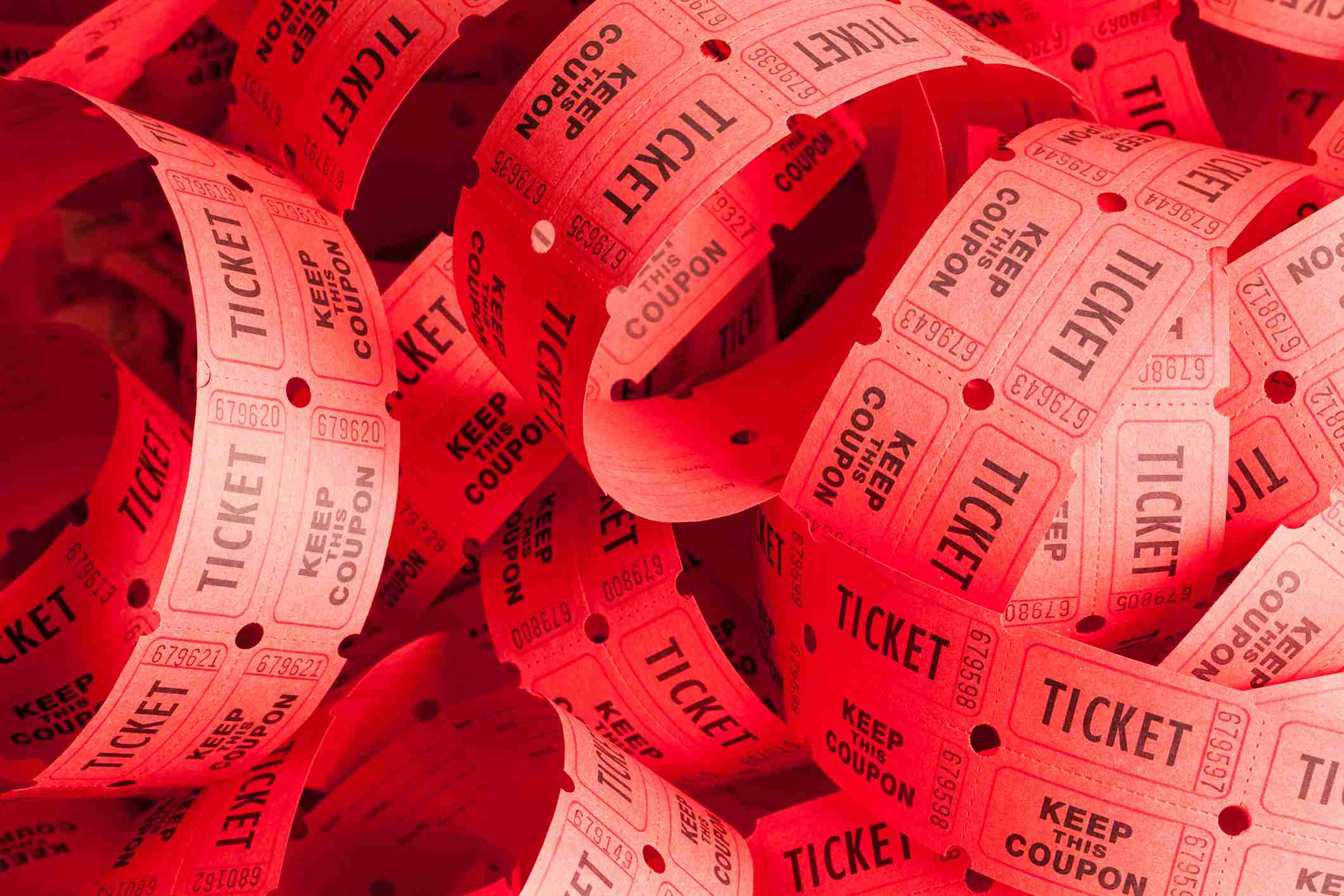 Big Pile of Tickets