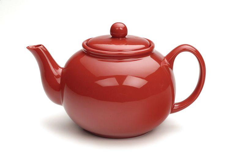 RSVP Red Teapot