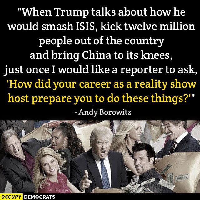 Donald Trump Reality Host