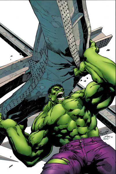 Profile Of The Hulk
