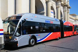 New articulated Metrobus