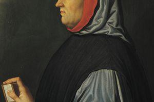 Portrait of Francesco Petrarca (1304-1374)