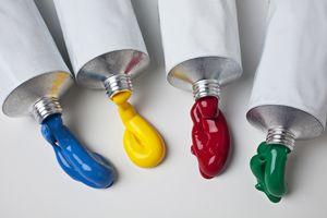 Four paint colors